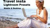 پریست لایت روم اینستاگرام تم مسافرت Travel insta Lightroom Presets Mobile & Desktop