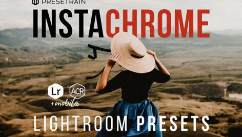 پریست لایت روم اینستاگرام و پریست کمرا راو Instachrome Lightroom Presets