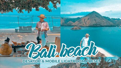 پریست لایت روم تم ساحل بالی Bali Beach Lightroom Preset Dekstop & Mobile