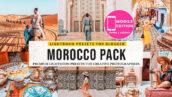 پریست لایت روم و پریست کمرا راو فتوشاپ تم مراکش Morocco Lightroom Presets
