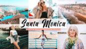 پریست لایت روم و کمرا راو و اکشن فتوشاپ سانتا مونیکا Santa Monica Pro Lightroom Presets