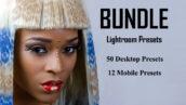 پکیج 2020 تعداد 50 پریست لایت روم حرفه ای BUNDLE Lightroom Presets