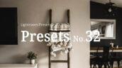 10 پریست رنگی لایت روم تم دکوراسیون داخلی Interior Lightroom Presets