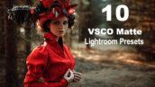 10 پریست لایت روم حرفه ای دسکتاپ VSCO Matte Lightroom Presets