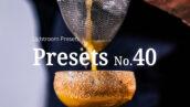 10 پریست لایت روم حرفه ای مواد غذایی Food Lightroom Presets
