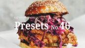 10 پریست لایت روم مواد غذایی Food Lightroom Presets