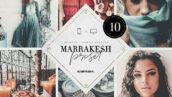 10 پریست لایت روم 2020 تم مراکش Marrakesh Lightroom Presets Bundle