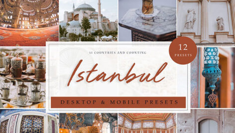 12 پریست لایت روم 2020 تم استانبول Istanbul Lightroom Presets