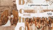 20 پریست حرفه ای لایت روم عروسی Boho Wedding Lightroom Presets