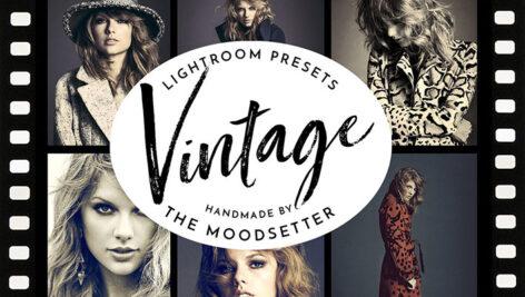 20 پریست لایت روم دسکتاپ و موبایل مد روز Vintage look Lightroom presets