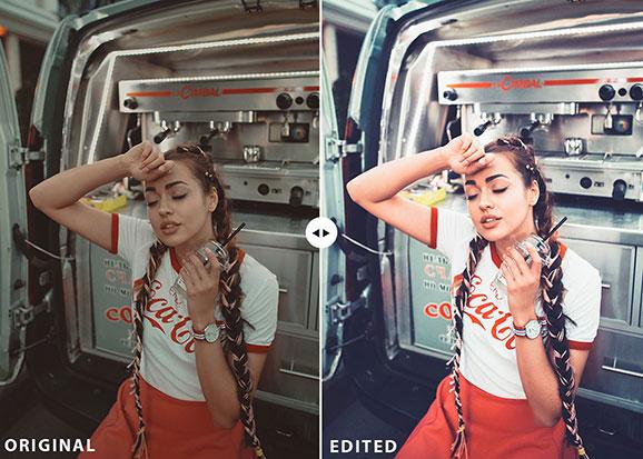 25 پریست لایت روم حرفه ای عکس پرتره Portraits Lightroom Presets