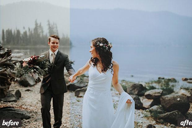 26 پریست لایت روم عروسی و پریست کمرا راو فتوشاپ Wedding Lightroom Presets