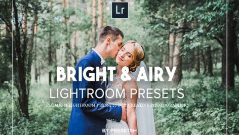 30 پریست لایت روم عروسی و پریست فتوشاپ Bright Airy Lightroom Presets