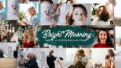 40 پریست لایت روم حرفه ای صبح روشن Bright Morning Lightroom Presets