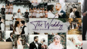 40 پریست لایت روم حرفه ای عروسی The Wedding Lightroom Presets