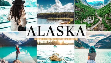 40 پریست لایت روم و کمرا راو تم آلاسکا Alaska Pro Lightroom Presets