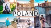 40 پریست لایت روم و کمرا راو تم لهستان Poland Pro Lightroom Presets
