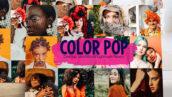 40 پریست لایت روم 2020 تم رنگی Color Pop Lightroom Presets
