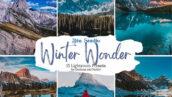 دانلود 30 پریست لایت روم حرفه ای عجایب زمستانی Winter Wonder Lightroom Preset