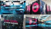 پروژه افتر افکت 3 بعدی معرفی شرکت با موزیک Modern Technology Corporate