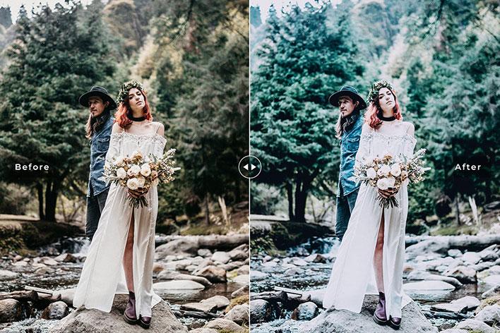 پریست لایتروم حرفه ای برای تصاویر عروسی (1)