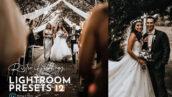 پکیج پریست لایت روم حرفه ای تم عروس روستایی Rustic Wedding Lightroom Preset Pack