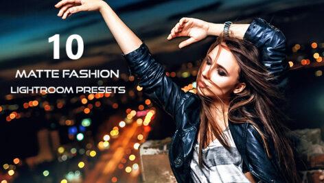 10 پریست لایت روم حرفه ای تم فشن و اسپرت Matte Fashion Lightroom Presets