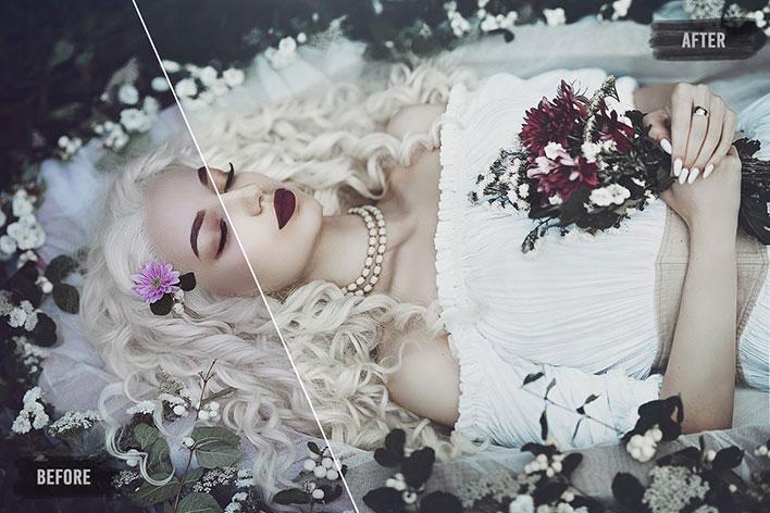 1000 پریست لایت روم حرفه ای عروسی Wedding Lightroom Presets