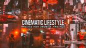 12 پریست لایت روم سینماتیک و پریست کمرا راو فتوشاپ Cinematic Urban Street Lightroom Presets