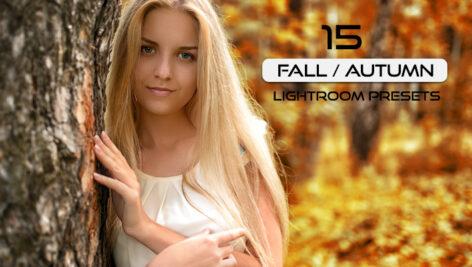15 پریست لایت روم حرفه ای تم پاییز Fall Autumn Lightroom Presets