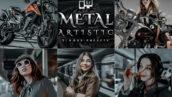 15 پریست لایت روم و پریست کمرا راو فتوشاپ تم فلز Artistic Metal Lightroom Presets