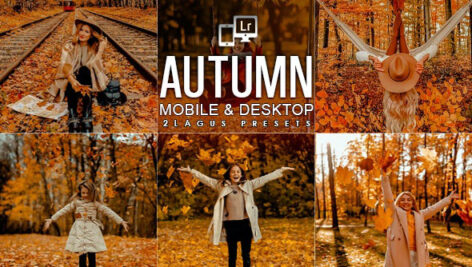 15 پریست لایت روم و پریست کمرا راو فتوشاپ فصل پاییز Autumn Lifestyles Presets