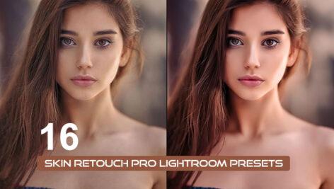 16 پریست لایت روم حرفه ای رتوش پوست صورت Skin Retouch Pro Lightroom Presets