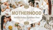 20 پریست لایت روم حرفه ای مادر و کودک Motherhood Mobile & Desktop Lightroom Presets mom blogger
