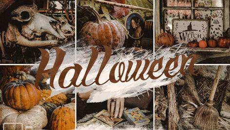 20 پریست لایت روم دسکتاپ و موبایل تم جشن هالووین Halloween presets & Horror Lightroom presets