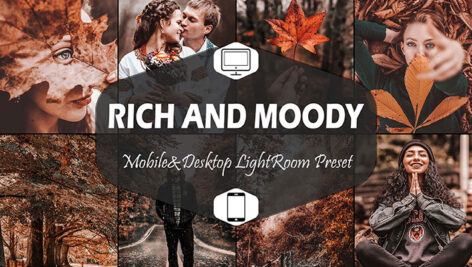 20 پریست لایت روم فصل پاییز Rich And Moody Mobile & Desktop Lightroom Presets Fall