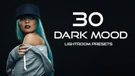 30 پریست لایت روم حرفه ای تم تیره Dark Mood Lightroom Presets