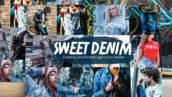 30 پریست لایت روم حرفه ای تم لباس جین Sweet Denim Lightroom Presets