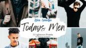 30 پریست لایت روم حرفه ای تم مد مردانه Todays Men Lightroom Presets