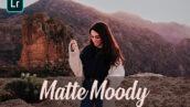 30 پریست لایت روم حرفه ای سینمایی و براش لایتروم Matte Moody Presets Lightroom