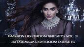 30 پریست لایت روم حرفه ای فشن و پریست کمرا راو فتوشاپ Fashion Lightroom Presets Vol. 3