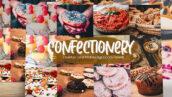 30 پریست لایت روم مواد غذایی شیرینی و کیک Sweet Confectionery Lightroom Presets