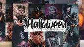 36 پریست لایت روم دسکتاپ و موبایل تم هالووین Halloween Lightroom Presets