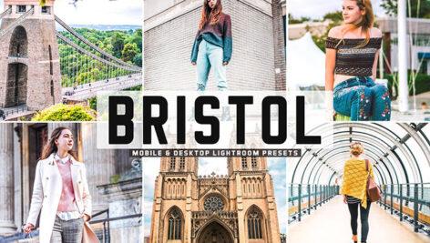 40 پریست لایت روم و پریست کمرا راو و اکشن فتوشاپ تم بندر بریستول انگلیس Bristol Pro Lightroom Presets