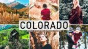 40 پریست لایت روم و پریست کمرا راو و اکشن فتوشاپ تم کلرادو آمریکا Colorado Pro Lightroom Presets