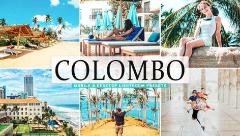 40 پریست لایت روم و پریست کمرا راو و اکشن فتوشاپ تم کلمبو پایتخت سریلانکا Colombo Pro Lightroom Presets