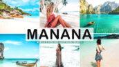 40 پریست لایت روم و کمرا راو و اکشن فتوشاپ اسپانیایی Manana Pro Lightroom Presets