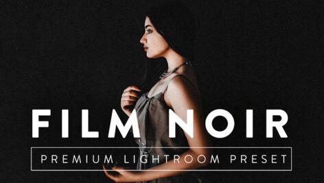 9 پریست لایت روم حرفه ای تم فیلم سیاه FILM NOIR Pro Lightroom Preset