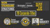پروژه آماده افتر افکت 20 تایتل فوق حرفه ای شرکتی Corporate Titles