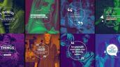 پروژه آماده افتر افکت 20 تایتل نقل قول اینستاگرام Qoutes Titles Instagram Pack 1